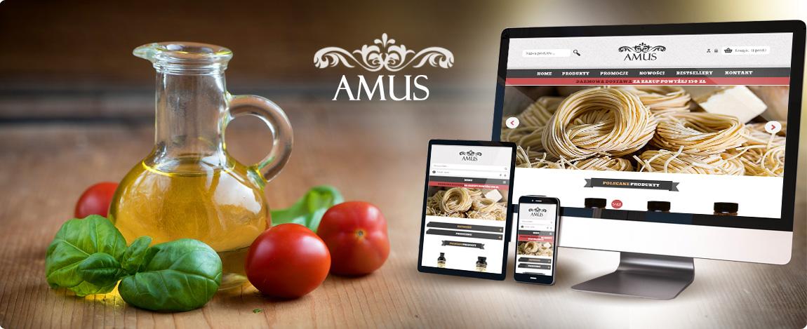 Nowa odsłona sklepu Amus