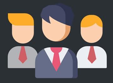 Profile pracowników w Prestashop.